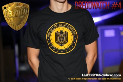 DREDDwatch #4 – Videos, Comics and a Fab Tee!