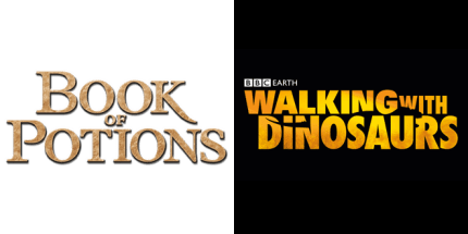 Wonderbook: Book of Potions & Walking With Dinosaurs