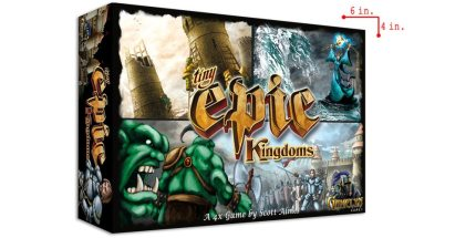 Tiny Epic Kingdoms: A 4X Game in Your Pocket