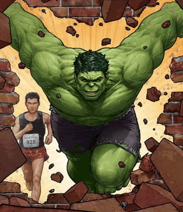 Geeks Assemble for the Avengers Super Heroes Half Marathon Weekend in 2014
