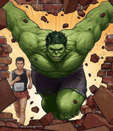 Geeks Assemble for the Avengers Super Heroes Half Marathon Weekend in 2014