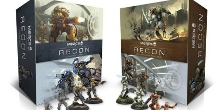 Kickstarter Alert: MERCS Recon – Cooperative Squad Based Board Game