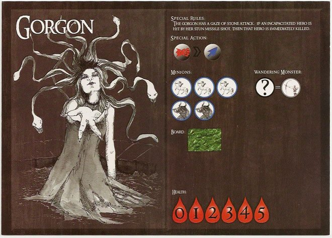 Catacombs Gorgon