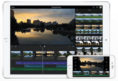 Apple updates iMovie for iOS with easy project creation, new sharing options