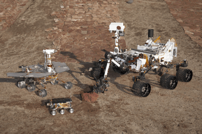 NASA's Curiosity rover can now pick which bits of Mars to scan on its own