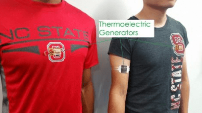 Your hot bod could soon power wearable batteries