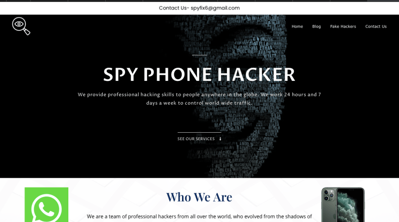 iOS and iPhone Hire a Hacker Review for Hacking Services: Search for Best  Hacker for Hire. – Spyfix6 Helps to Spy – Phone Hack | WhatsApp Spy| Hire a  Hacker| Cell Phone