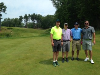 My buddies and I looked more fresh after 9 holes at Boston Golf Club than we did at the end of the 36 hole day.