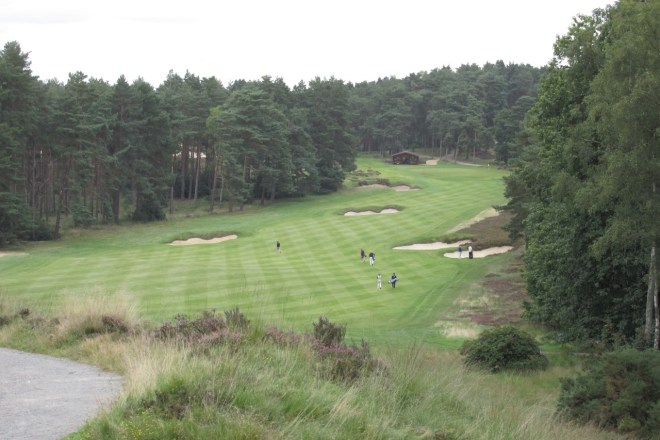 The heathland setting of Sunningdale
