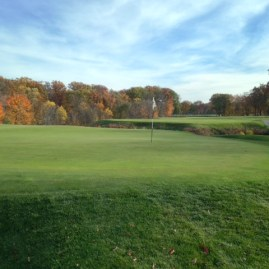 #11 - In the heart of this amazing stretch of holes, it is hard not to be distracted by the majestic beauty of the place.