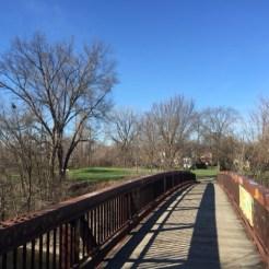 The South Loop bridge.