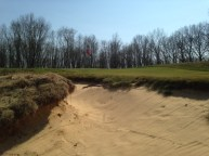 #6 - Pictures cannot convey how severe this bunker greenside left is - shots here are dead