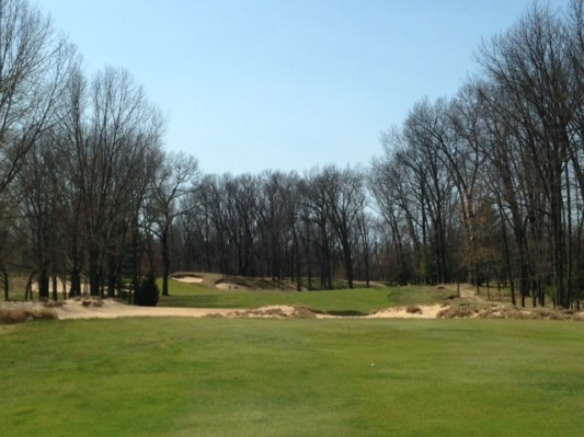 #8 - The view from the tee shot landing area