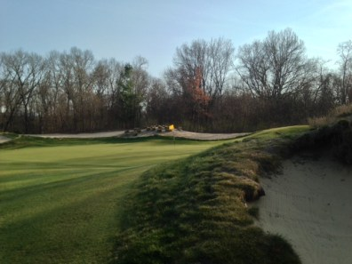 #8 - The bunker short-right guarding the green
