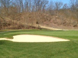 #13 - The bunkering surrounding the green is no picnic