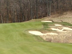 #15 - The bunkers short and right of the green gobble up weak approaches