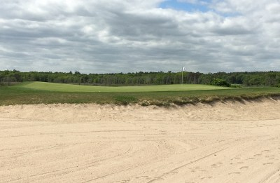#3 - Par 3 - Short on the beach