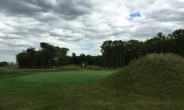 #8 - Par 3 - Large mounding behind the green