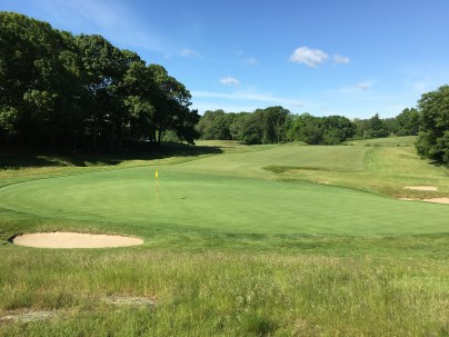 #4 - Par 4 - Green back to the fairway