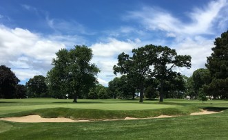 #14 - Right of the green