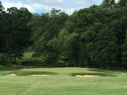 #2 - Par 3 - Down to the newly built green