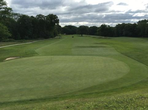 #3 - Par 4 - Green back toward the tee