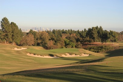 After - Revealing topography and depth behind the green