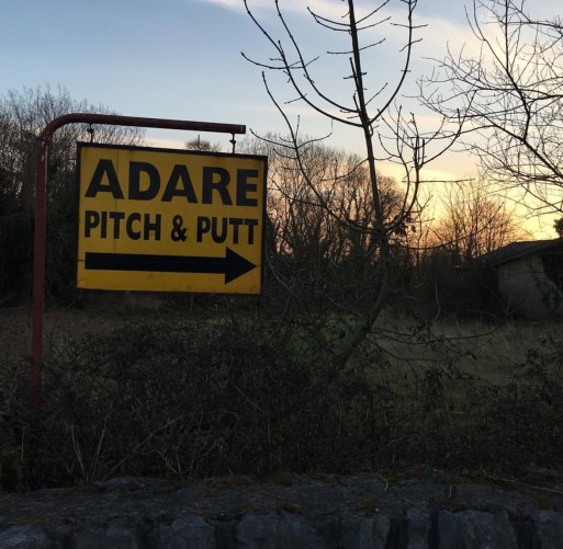 Adare-PitchPuttSign