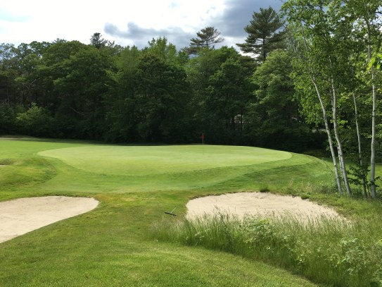 #12 - Par 4 - Right of the green from the 13th tee
