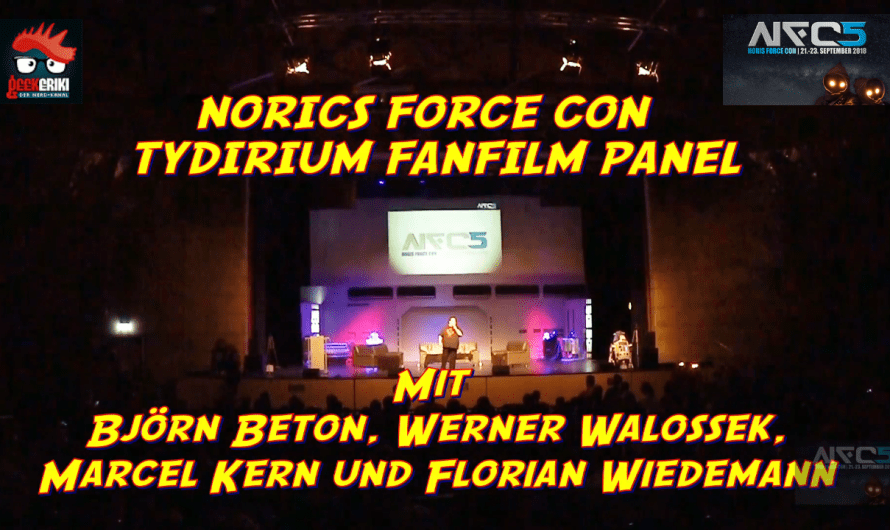 NORIS FORCE CON FAN FILM TYDIRIUM PANEL 2018