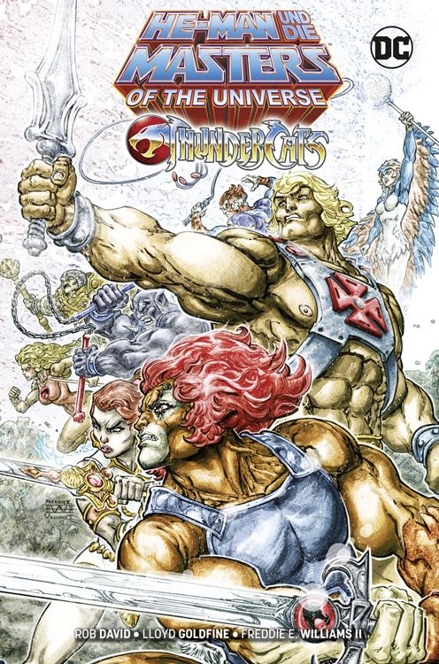 HE-MAN UND DIE MASTERS OF THE UNIVERSE/ THUNDERCATS