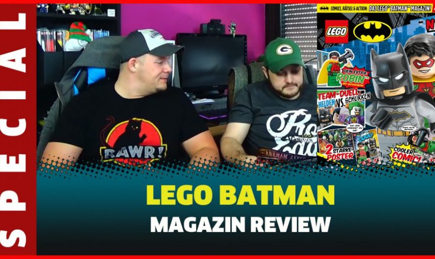 LEGO BATMAN MAGAZIN REVIEW