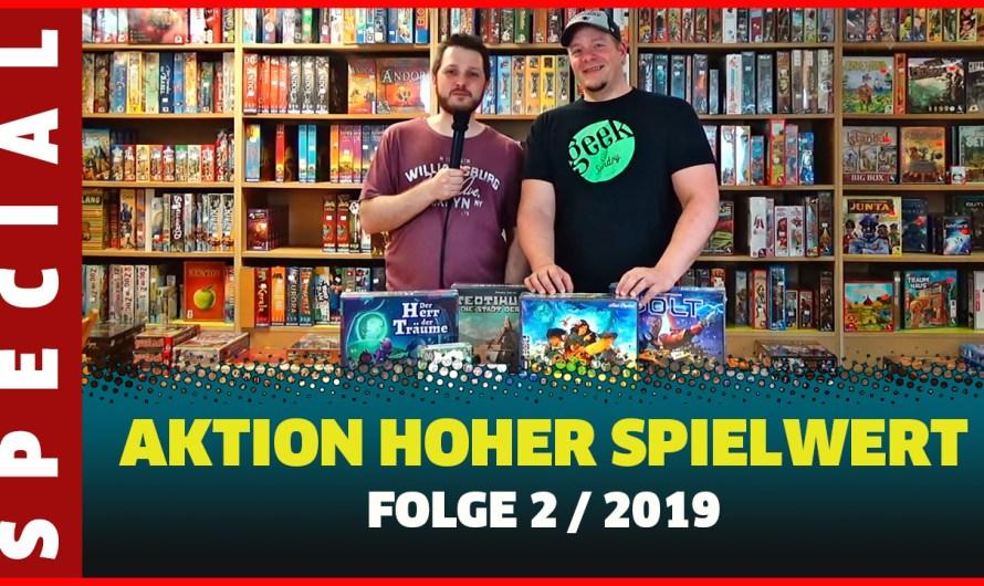 AKTION HOHER SPIELWERT 2019 TEIL 2