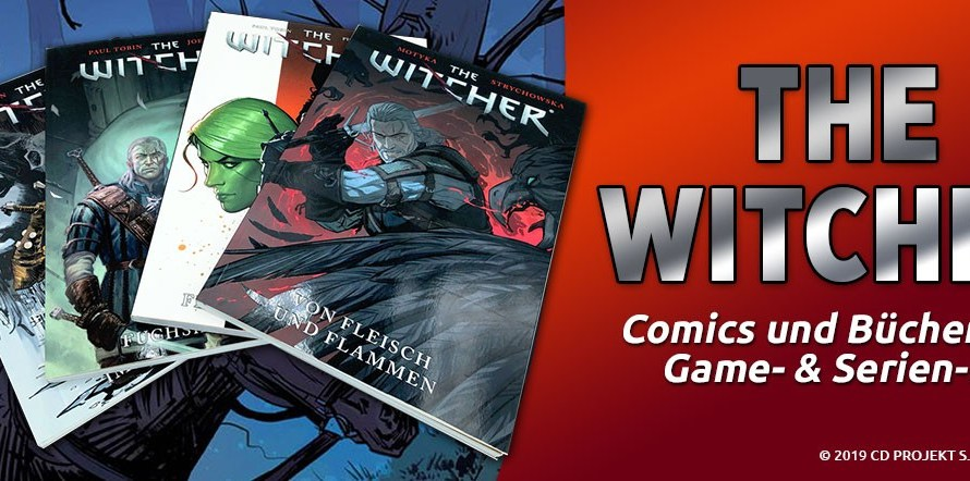THE WITCHER: DIE COMICS ZUM VIDEOSPIEL HIT!