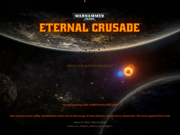 Eternal Crusade Title