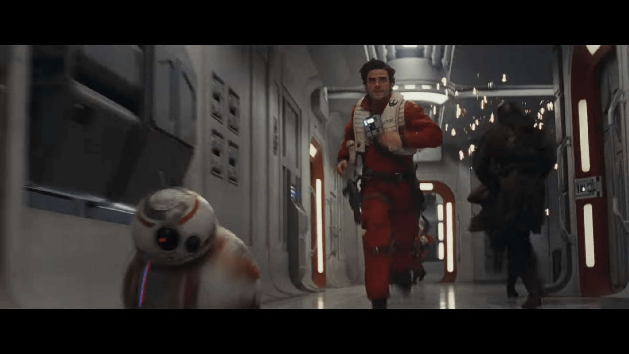 The Last Jedi Teaser Poe BB8