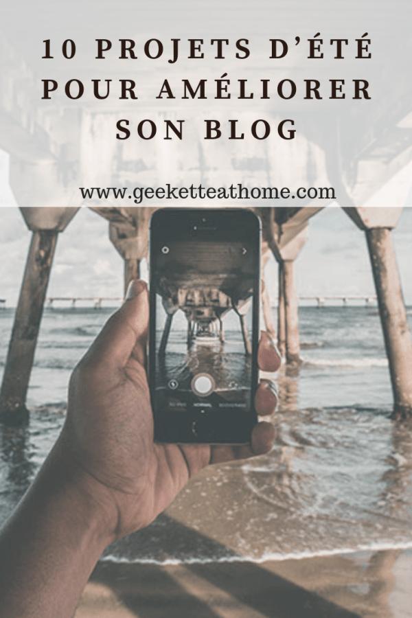 10 Projets d'été pour améliorer son blog