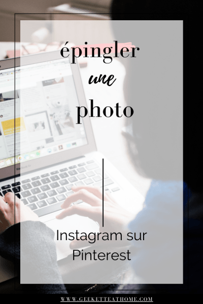 épingler une photo instagram sur pinterest