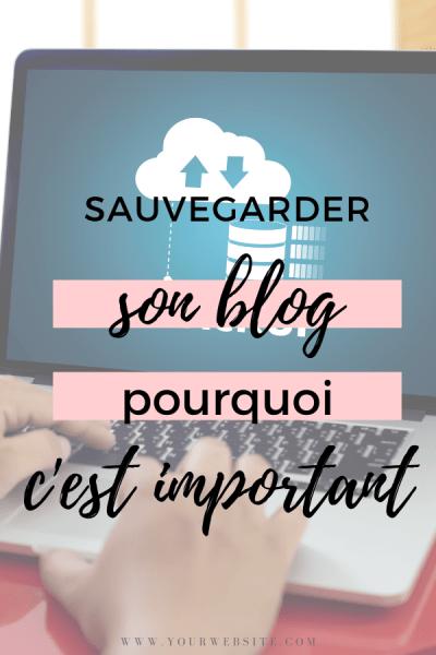 sauvegarder son blog, pourquoi c'est important