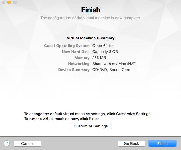vmware-finish