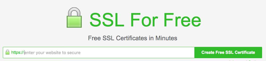 Getting ssl certificate for website