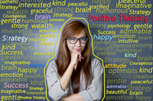 small business positive thinking success