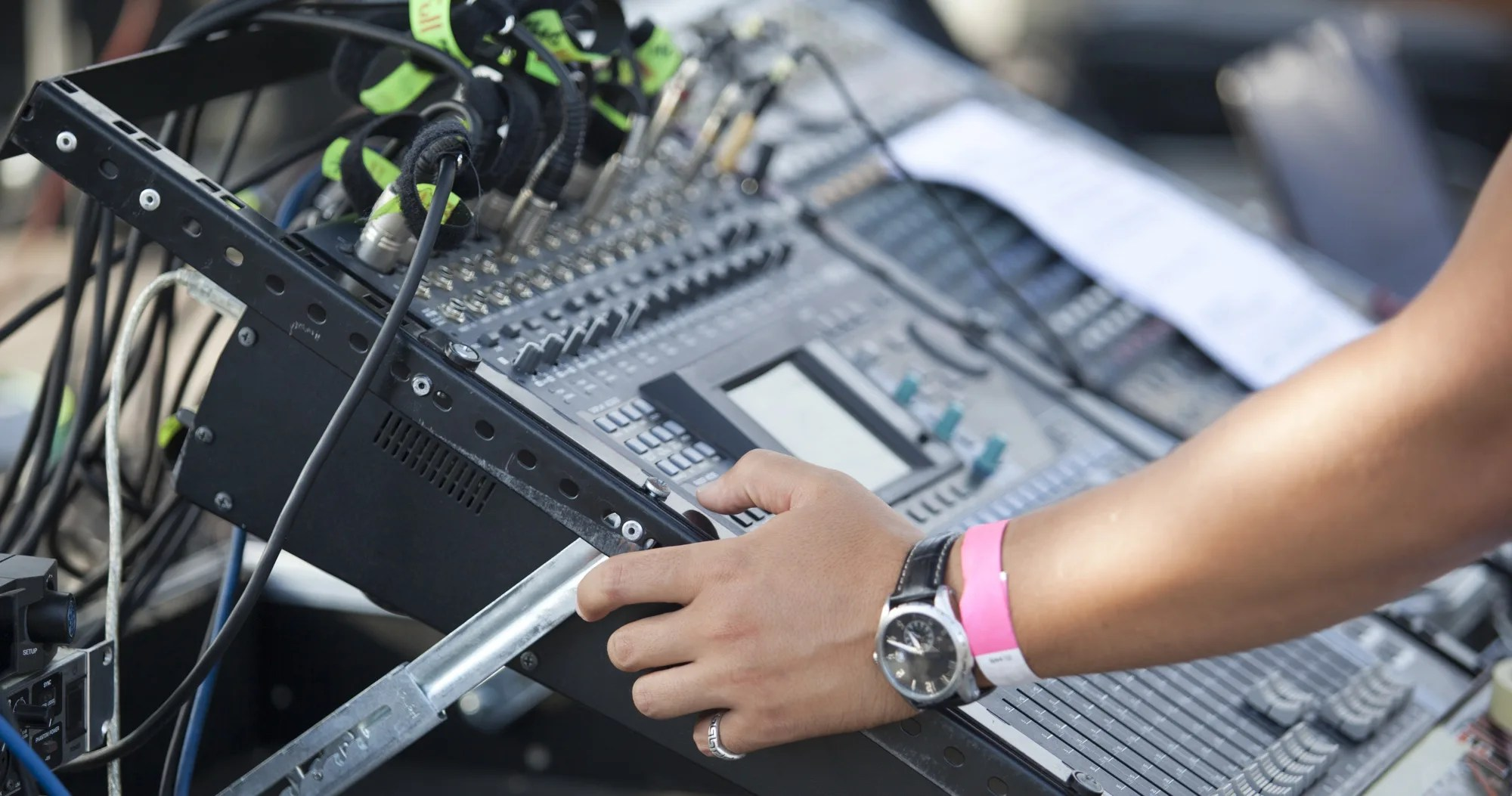 Fixing Feedback and Stage Sound with Audio Engineer Andy