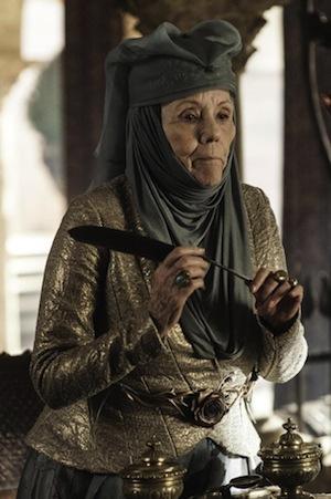 Dianna Rigg as Olenna Tyrell (Helen Sloan/HBO)