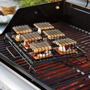 Smores over barbecue