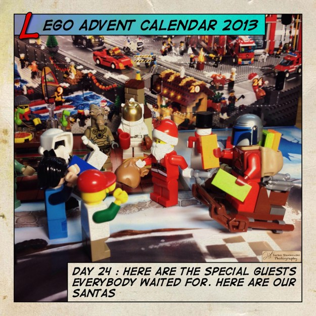 LEGO Advent Calendar 2013 day 24