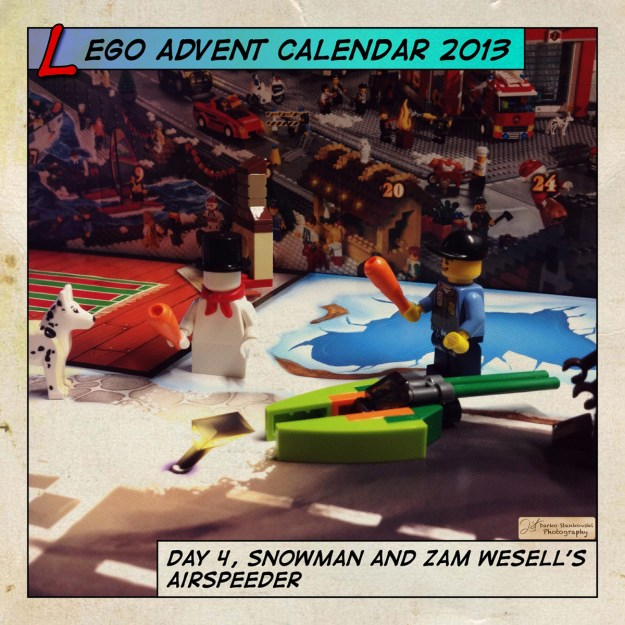 LEGO Advent Calendar 2013 day 4