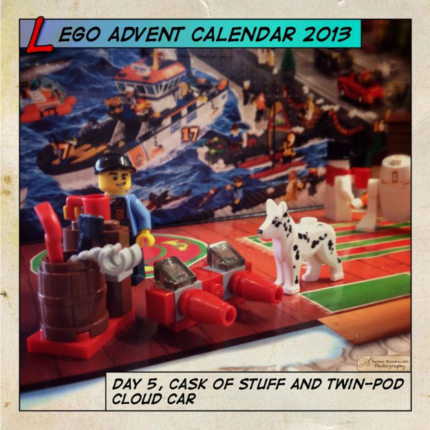 LEGO Advent Calendar 2013 day 5
