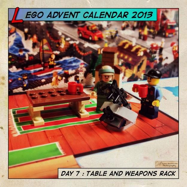 LEGO Advent Calendar 2013 day 7