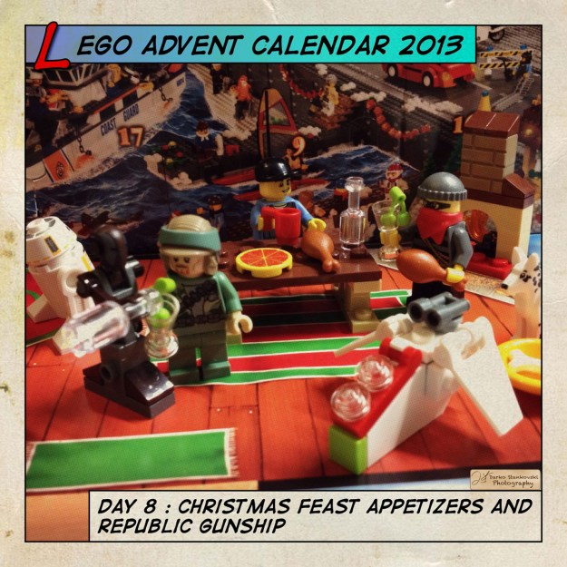 LEGO Advent Calendar 2013 day 8
